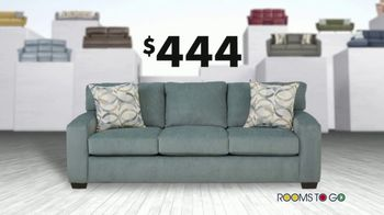 Rooms to Go Anniversary Sofa Sale TV Spot, 'Every Sofa' Song by Junior Senior - Thumbnail 6