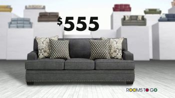 Rooms to Go Anniversary Sofa Sale TV Spot, 'Every Sofa' Song by Junior Senior - Thumbnail 7