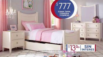 Rooms to Go Kids Venta de Aniversario TV Spot, 'Cama Twin' canción de Junior Senior [Spanish] - Thumbnail 5