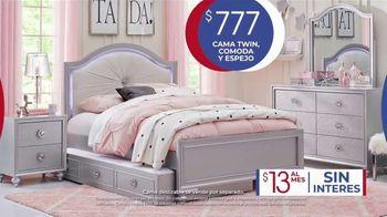 Rooms to Go Kids Venta de Aniversario TV Spot, 'Cama Twin' canción de Junior Senior [Spanish] - Thumbnail 6