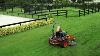 Kubota Z400 Mower TV Spot, 'Your Lawn Deserves It' - Thumbnail 2