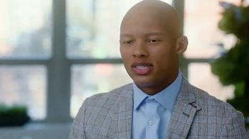 Pfizer, Inc. TV Spot, 'Alopecia Areata' Featuring Joshua Dobbs - Thumbnail 2