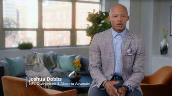 Pfizer, Inc. TV Spot, 'Alopecia Areata' Featuring Joshua Dobbs - Thumbnail 4