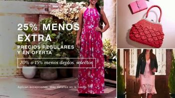 Macy's TV Spot, 'Primavera: 25 por ciento menos extra' [Spanish] - Thumbnail 2