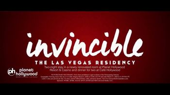 Planet Hollywood Resort & Casino TV Spot, 'Kelly Clarkson: Invincible'