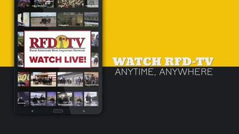 RFD TV NOW TV Spot, 'Watch Anywhere' - Thumbnail 1