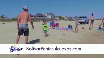 Bolivar Peninsula Tourism and Visitors Center TV Spot, 'Sand Between Your Toes'