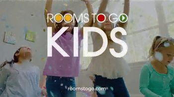 Rooms to Go Kids Anniversary Sale TV Spot, 'Disney Princess Bedroom' Song by Junior Senior - Thumbnail 7