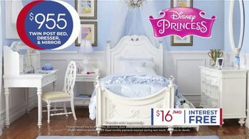 Rooms to Go Kids Anniversary Sale TV Spot, 'Disney Princess Bedroom' Song by Junior Senior - Thumbnail 5