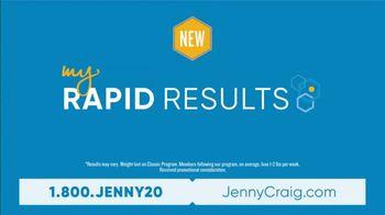 Jenny Craig My Rapid Results TV Spot, 'Custom Fit' - Thumbnail 3