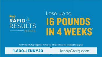 Jenny Craig My Rapid Results TV Spot, 'Custom Fit' - Thumbnail 5