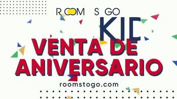 Rooms to Go Kids Venta de Aniversario TV Spot, 'Camas para niños: literas y lofts' [Spanish] - Thumbnail 7