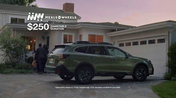 Subaru Share the Love Event TV Spot, 'Holiday Meals' [T1] - Thumbnail 10
