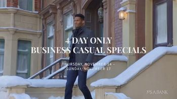 JoS. A. Bank Business Casual Specials TV Spot, 'Shirts, Sweaters, Pants and Sportcoats' - Thumbnail 1