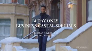JoS. A. Bank Business Casual Specials TV Spot, 'Shirts, Sweaters, Pants and Sportcoats'