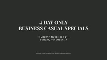 JoS. A. Bank Business Casual Specials TV Spot, 'Shirts, Sweaters, Pants and Sportcoats' - Thumbnail 6