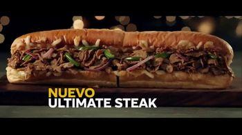 Subway Ultimate Cheesy Garlic Bread Collection TV Spot, '¡Nuevo Ultimate Steak!' [Spanish] - Thumbnail 5