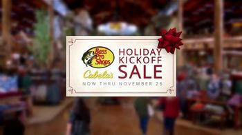 Bass Pro Shops Holiday Kickoff Sale TV Spot, 'Giant Stuffed Fish and Baitcast Reel' - Thumbnail 3
