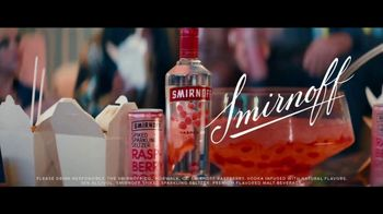 Smirnoff Spiked Sparkling Seltzer TV Spot, 'A Family Feast' Feat. Laverne Cox, Toddy Smith Song by Ella Fitzgerald - Thumbnail 9