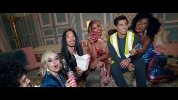 Smirnoff Spiked Sparkling Seltzer TV Spot, 'A Family Feast' Feat. Laverne Cox, Toddy Smith Song by Ella Fitzgerald - Thumbnail 6
