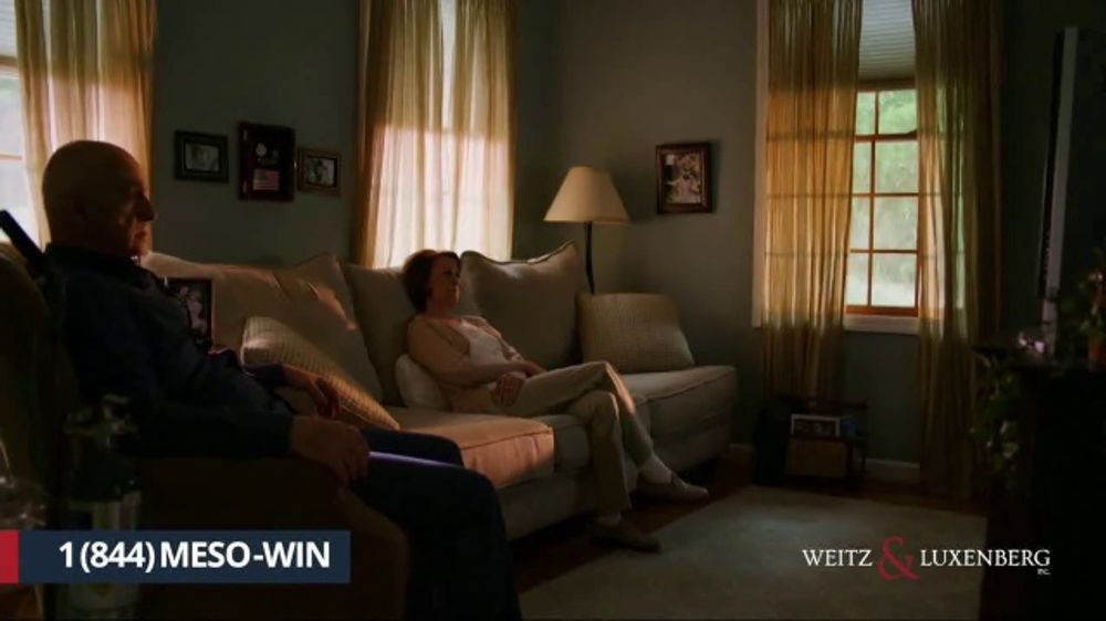Weitz and Luxenberg TV Commercial, 'Mesothelioma: Difficult Decision' - iSpot.tv