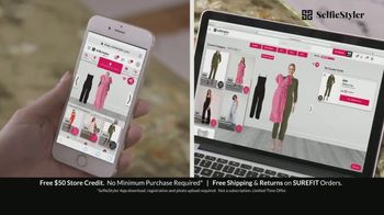 SelfieStyler TV Spot, 'Virtually Try Before You Buy: Free $50 Gift' - Thumbnail 9