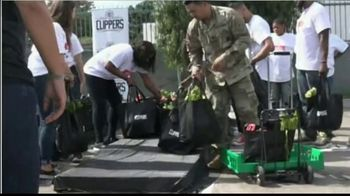 NBA Cares TV Spot, 'Hoops for Troops: Feed the Community' - 1 commercial airings