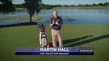Revolution Golf Sure-Speed TV Spot, 'Swing Faster and More Consistently' Featuring Martin Hall - Thumbnail 1