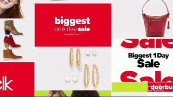 Belk Biggest One Day Sale TV Spot, 'Hardside Luggage and Extra Discounts'