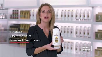 Pantene Daily Moisture Renewal Conditioner TV Spot, 'Brand Power: Repair Dry Damaged Hair' - Thumbnail 9