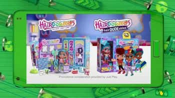 Hairdorables & HairDUDEables TV Spot, 'The Buzz: Dance, Glamp and Have Slumber Parties' - Thumbnail 10