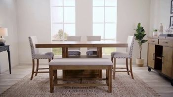 Bob's Discount Furniture TV Spot, 'Rustic Sonoma Dining Set' - Thumbnail 2