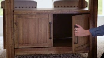 Bob's Discount Furniture TV Spot, 'Rustic Sonoma Dining Set' - Thumbnail 3