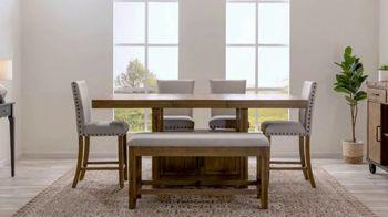 Bob's Discount Furniture TV Spot, 'Rustic Sonoma Dining Set' - Thumbnail 6