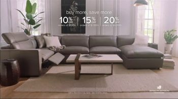 American Signature Furniture Early Black Friday Sale TV Spot, 'Buy More, Save More' - Thumbnail 3
