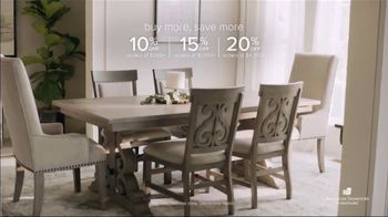 American Signature Furniture Early Black Friday Sale TV Spot, 'Buy More, Save More' - Thumbnail 4
