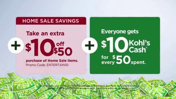 Kohl's Home Sale TV Spot, 'Extra 15 Percent Off, Cuddl Duds Sheets and Air Fryer' - Thumbnail 7
