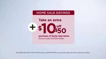 Kohl's Home Sale TV Spot, 'Extra 15 Percent Off, Cuddl Duds Sheets and Air Fryer' - Thumbnail 6
