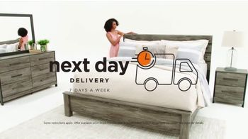 Ashley HomeStore Black Friday Mattress Sale TV Spot, 'Going on Now: Next Day Delivery' Song by Midnight Riot - Thumbnail 9