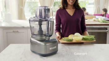 Cuisinart Elemental 13-Cup Food Processor TV Spot, 'Dicing & Slicing' - Thumbnail 2