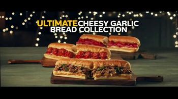 Subway Ultimate Cheesy Garlic Bread Collection TV Spot, 'The Gift That Keeps on Tasting' - 1175 commercial airings