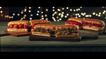 Subway Ultimate Cheesy Garlic Bread Collection TV Spot, 'The Gift That Keeps on Tasting' - Thumbnail 1