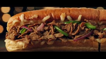 Subway Ultimate Cheesy Garlic Bread Collection TV Spot, 'The Gift That Keeps on Tasting' - Thumbnail 2