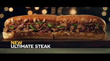 Subway Ultimate Cheesy Garlic Bread Collection TV Spot, 'The Gift That Keeps on Tasting' - Thumbnail 3
