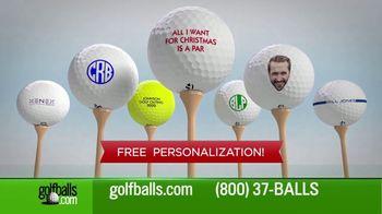 Golfballs.com TV Spot, 'Holiday Season: Callaway, TaylorMade & Srixon'