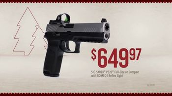 Bass Pro Shops Holiday Kickoff Sale TV Spot, 'Ammo, Hunting Boots and Pistol' - Thumbnail 9