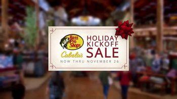 Bass Pro Shops Holiday Kickoff Sale TV Spot, 'Ammo, Hunting Boots and Pistol' - Thumbnail 5