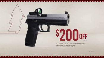 Bass Pro Shops Holiday Kickoff Sale TV Spot, 'Ammo, Hunting Boots and Pistol' - Thumbnail 8