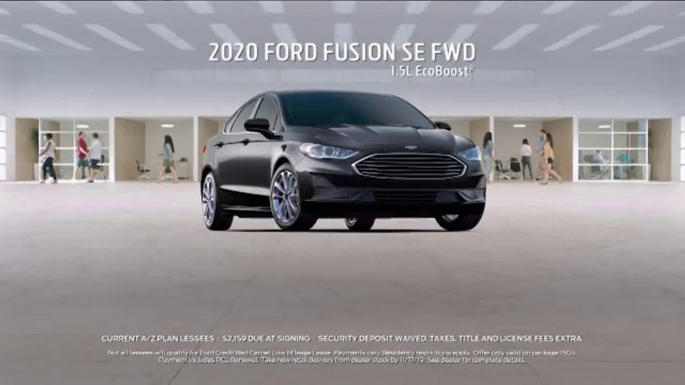 Ford Z Plan >> 2020 Ford Fusion Tv Commercial Current A Z Plan Lease A Fusion T2 Video