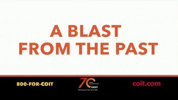 COIT 70 Year Anniversary TV Spot, 'Blast From the Past: New Carpets and Drapes' - Thumbnail 1